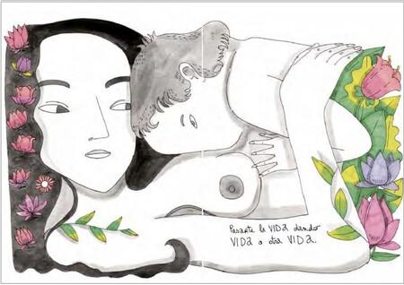 """La experiencia de la maternidad """"nunca contada"""" en ilustraciones muy reales: reflexiones de una mamá auténtica"""