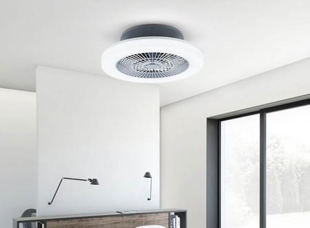 Xiaomi Huizuo Intelligent Fan Light: esta lámpara de Xiaomi tiene un ventilador incorporado para climatizar la habitación