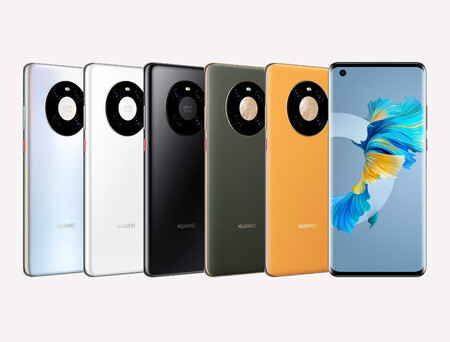 """Huawei Mate 40: pantalla curva con 90 Hz de tasa de refresco para el """"más basico"""" de la serie Mate 40"""