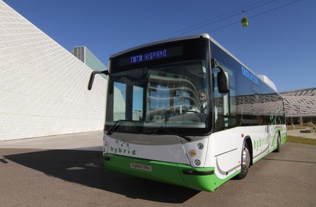 Tata Hispano Hybrid autobús híbrido