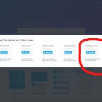 Twitter lanza un botón que permite enviar mensajes directos desde cualquier web