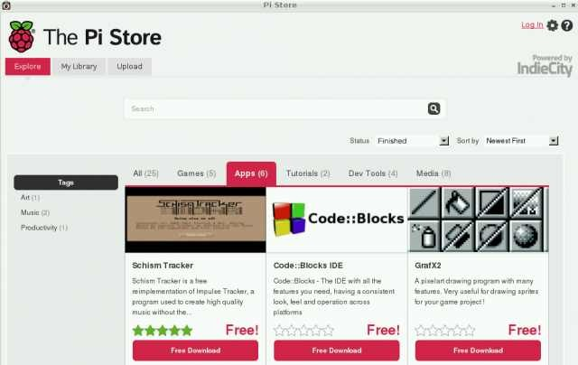 Así es The Pi Store, la tienda de aplicaciones de para la Raspberry Pi