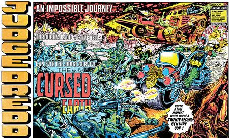Judge Dredd The Cursed Earth Saga Pat Mills Mike Mcmahon John Wagner Brian Bolland 8