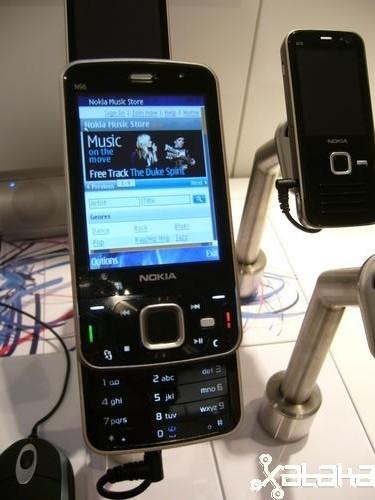 La tienda de música de Nokia