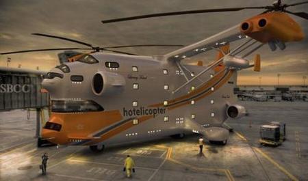 Hotelicopter: el hotel de 5 estrellas volador