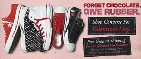 San Valentín: celébralo con Converse