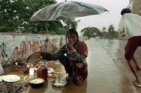 """La lluvia 'de sangre"""" de Kerala"""