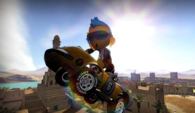 'Modnation Racers'. Su beta abierta estará disponible muy pronto