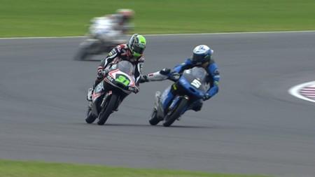 MotoGP Argentina 2015: Romano Fenati, un comportamiento indigno de un piloto