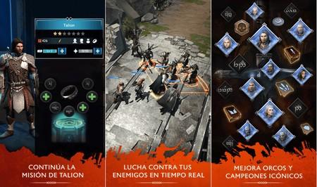 Sombras de Guerra: ya disponible en Google Play el juego basado en los personajes de La Tierra Media