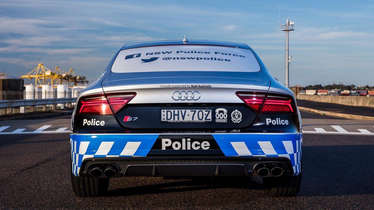 Foto de Audi S7 Sportback Policía Australia (10/15)