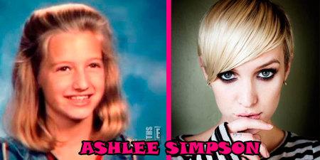 ASHLEE-SIMPSON-niña