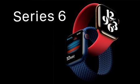 Ahórrate 30 euros estrenando un Apple Watch Series 6: Amazon te deja el de 40mm por 399 euros y el de 44mm por 429 euros