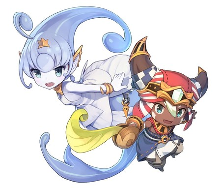 Ever Oasis Art3