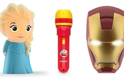 ¿Necesitas hacer regalos infantiles? Amazon nos ofrece hasta un 25% de descuento en  productos Disney de Philips Iluminación