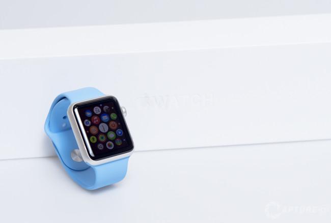 Apple Watch Sport correa azul