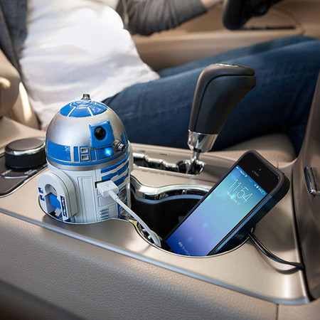 Cargador de USB para coche R2-D2