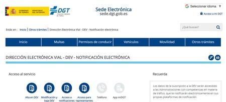 Direccion Electronica Vial De La Dgt Que Es Y Para Que Sirve