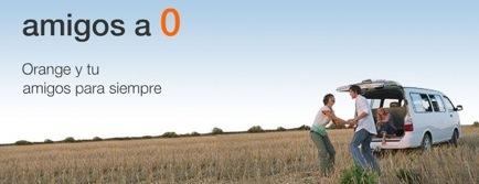 Trae un amigo a Orange y habla a 0 euros con él para siempre