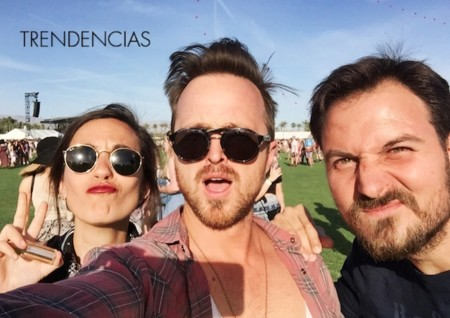 Aaron Paul Coachella 2015 Trendencias