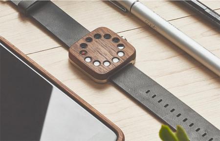 Línea de relojes de madera Grovemade