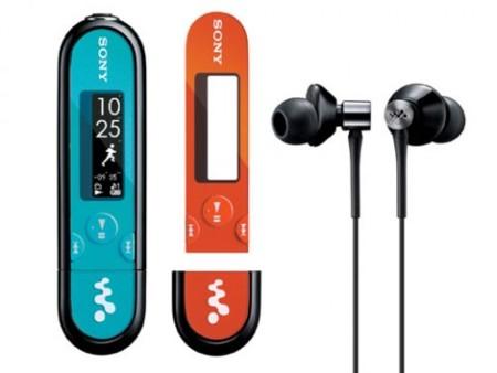 Sony Walkman E-Series permite cambiar el frontal a nuestro gusto