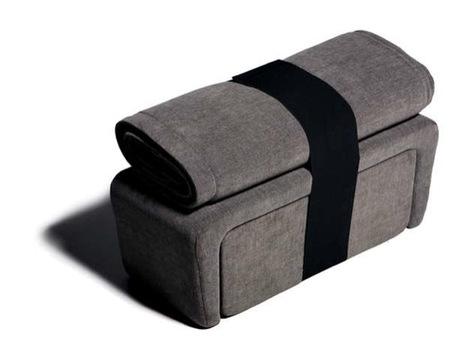 Nigiri, un set de muebles compacto y minimalista