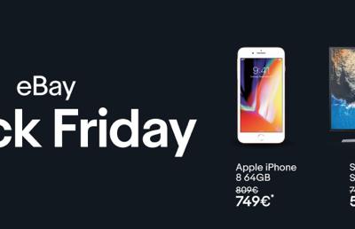 Black Friday eBay 2017: Las mejores ofertas de hoy día 24 de noviembre