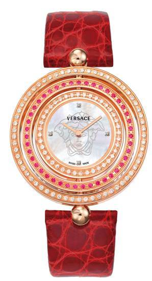 Especial San Valentín: Versace 'Eon Precious Red', zafiros rosas y madreperla en un reloj de lujo