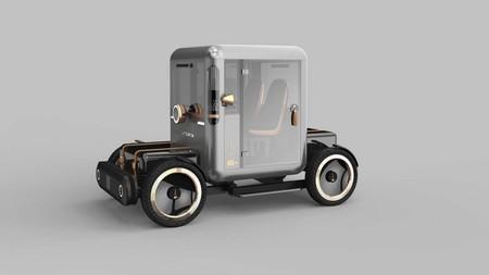 Mole Urbana es un auto eléctrico que parece haberse escapado del siglo XIX