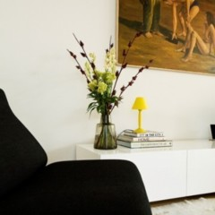 Foto 4 de 4 de la galería un-salon-con-detalles-amarillos en Decoesfera