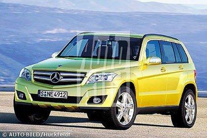 Mercedes-Benz GLK, el rival directo del X3