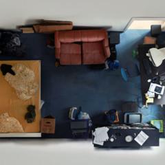 Foto 1 de 7 de la galería room-portraits-habitaciones-retratadas-desde-un-nuevo-angulo-por-menno-aden en Decoesfera