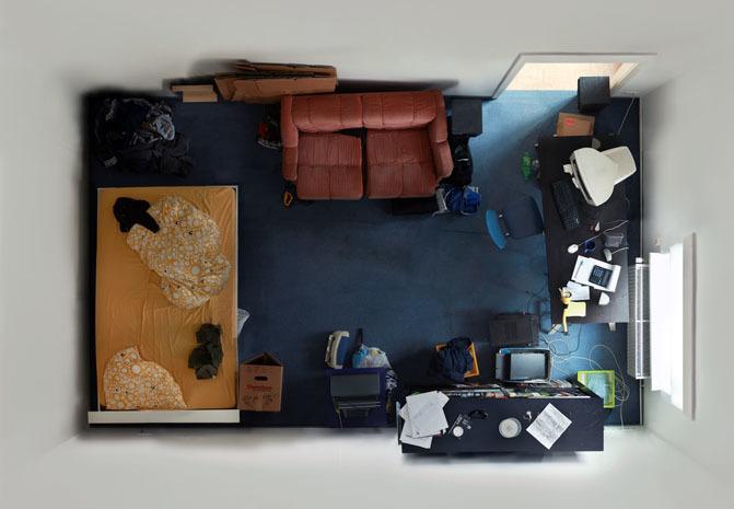 """Foto de """"Room portraits"""", habitaciones retratadas desde un nuevo ángulo por Menno Aden (1/7)"""