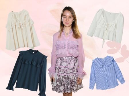 Nos inspiramos en Alexandra de Hannover para darle un toque romántico a nuestros looks y estas siete blusas son nuestras favoritas para ello