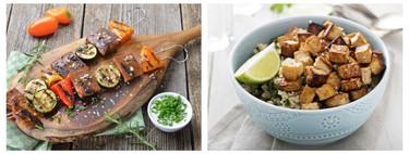 Tofu, tempeh y seitán: origen, uso y propiedades de estos tres alimentos vegetales ricos en proteínas