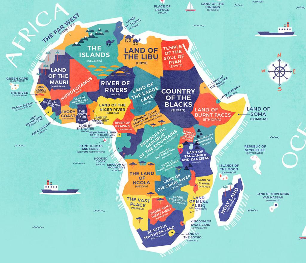 Nombres De Africa