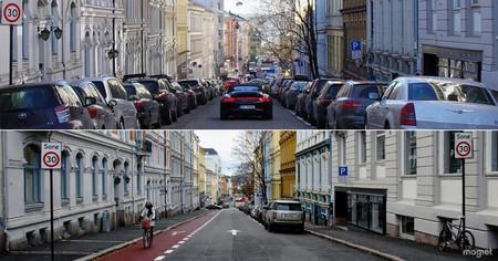 Oslo ha tenido una idea brillante para sacar a los coches de sus calles: eliminar los aparcamientos