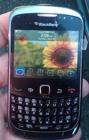 BlackBerry Curve 9300, primeras y detalladas imágenes