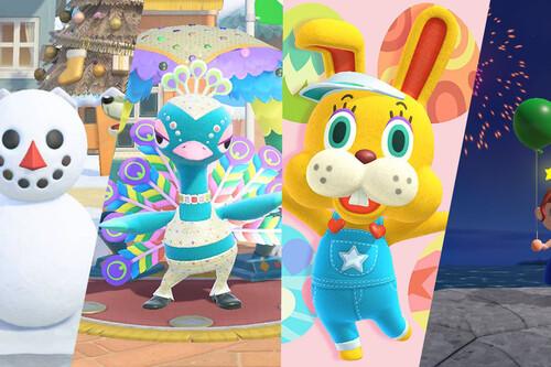 Todos los eventos anuales de Animal Crossing: New Horizons