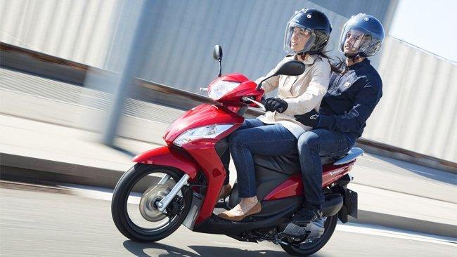 Honda muestra un gran scooter de lo más económico
