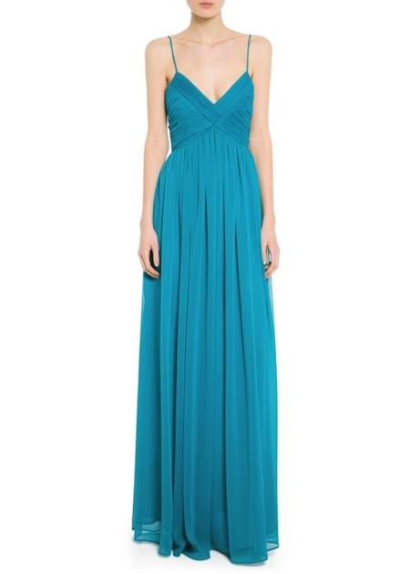 vestido azul turquesa para boda rebajas