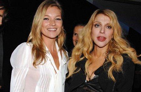 Kate Moss y Courtney Love ¿Hubo algo más que amistad?