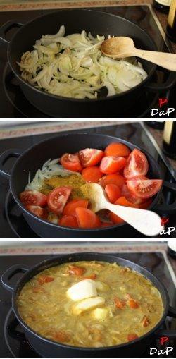 Cómo hacer salsa curry
