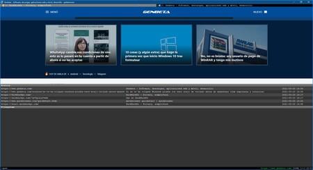 He probado a usar un navegador que no requiere de ratón y lo hace todo con atajos de teclado y comandos