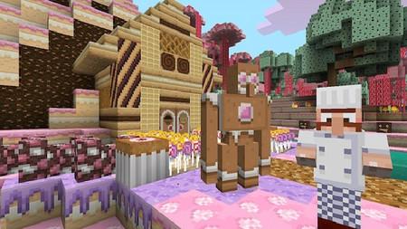 Minecraft para Xbox 360 estrena pack con textura de Pascua