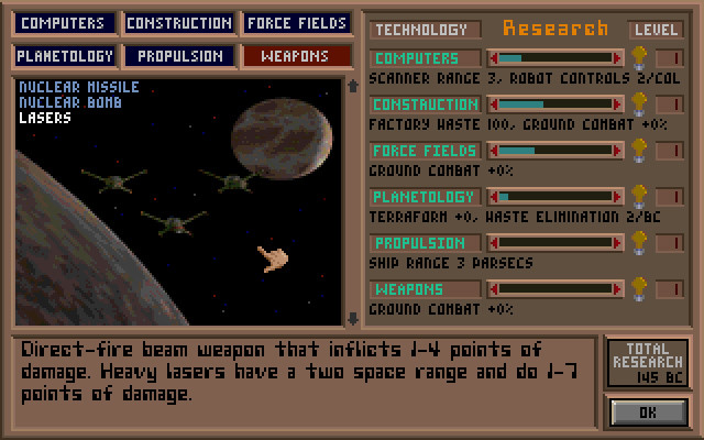 Master of Orion (Microprose, 1993)