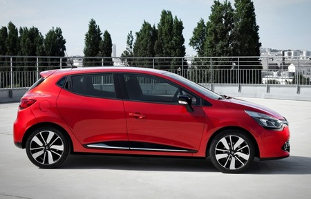 Renault Clio 2012 lateral