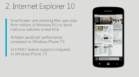 Internet Explorer 10 para Windows Phone 8, cuatro veces más rápido