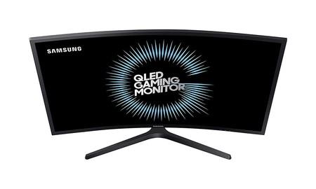 Precio mínimo en Amazon para el completo monitor gaming curvo Samsung C32HG70 de 32 pulgadas WQHD: ahora lo tienes por 451,09 euros